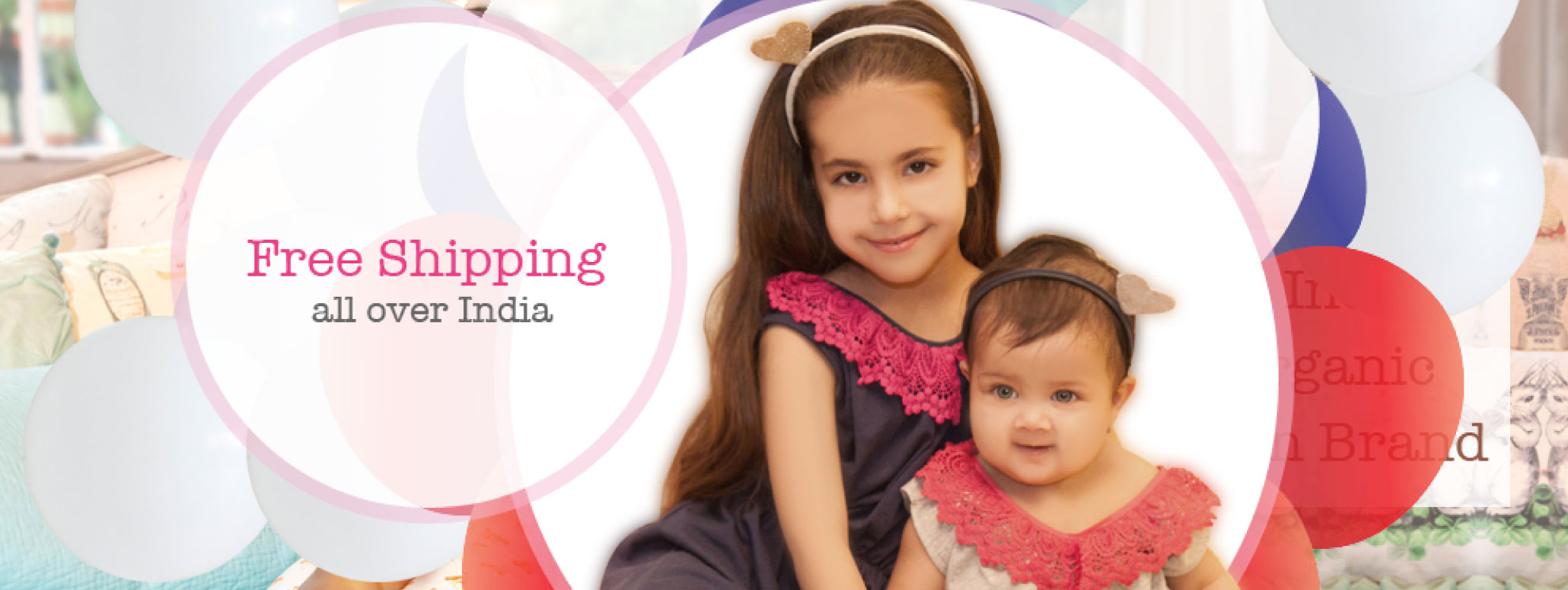 Baby Clothes shipped for free all over India