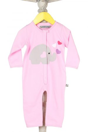 elephant-applique-sleep-suit-pink-color-for-baby-girl-1