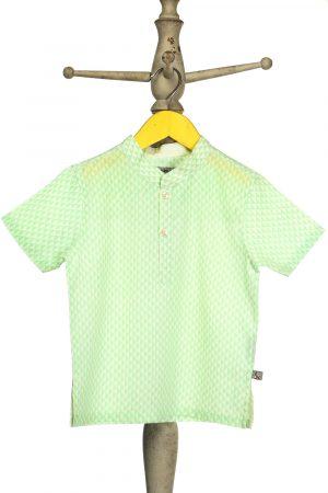 geometric-printed-shirt-for-boy-green-1