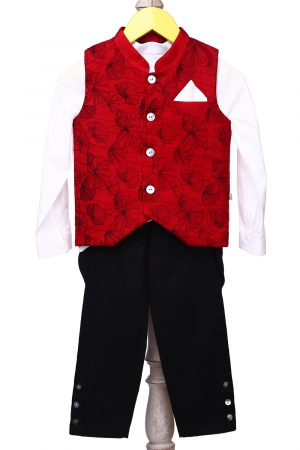 lily-printed-waistcoat-with-matching-shirt-and-jodhpur-pants-for-boy-red-1