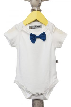 onesie-with-navy-detachable-bow-tie-white-color-for-baby-boy