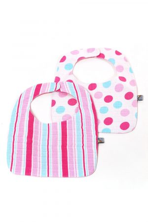 reversible-muslin-bib-set-for-baby-girl-2-piece-for-baby-girl-1