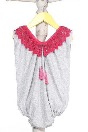 romper-with-bright-lace-collar-for-baby-girl-grey-1